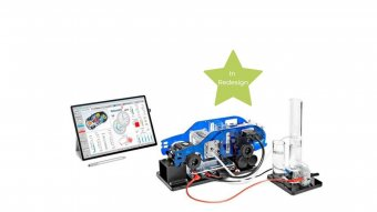 HyDrive – Electric Vehicle Trainer set up with Tablet PC